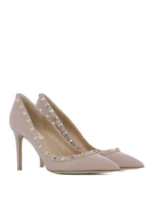 Valentino Garavani: court shoes online - Studded leather pumps