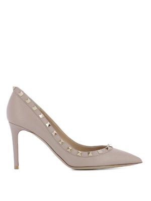 Valentino Garavani: court shoes - Studded leather pumps