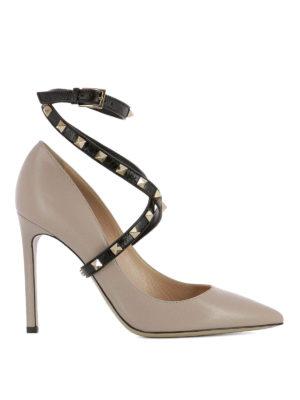 Valentino Garavani: court shoes - Studwrap court shoes