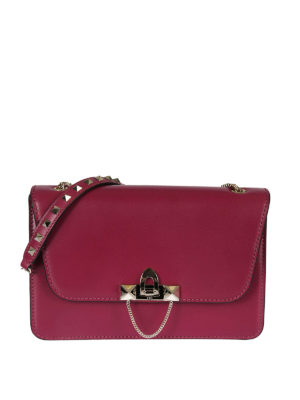 Valentino Garavani: cross body bags - Demilune small cross body bag