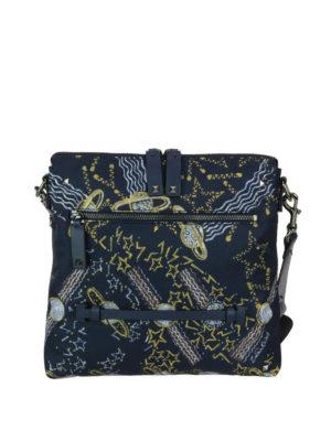 VALENTINO GARAVANI: borse a tracolla - Tracollina in tessuto stampa Galaxy