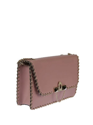 Valentino Garavani: cross body bags online - Demilune small chain cross body bag