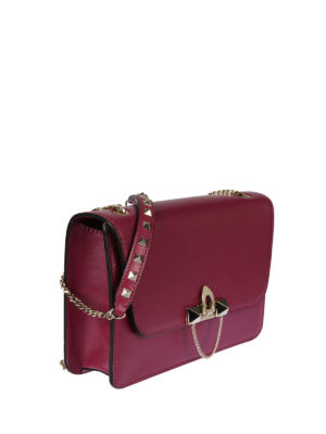Valentino Garavani: cross body bags online - Demilune small cross body bag