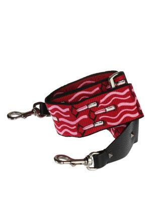 Valentino Garavani: cross body bags online - Guitar Rockstud bag shoulder strap