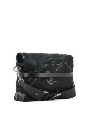 Valentino Garavani: cross body bags online - Panther printed fabric bag