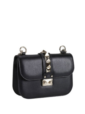Valentino Garavani: cross body bags online - Rockstud Lock small cross body bag