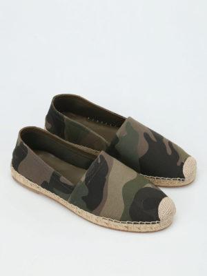 Valentino Garavani: espadrilles online - Camouflage espadrilles