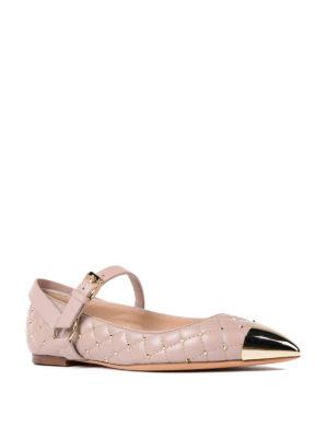 Valentino Garavani: flat shoes online - Rockstud Spike flat shoes