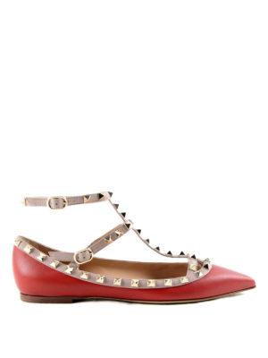 Valentino Garavani: flat shoes - Rockstud ballerinas