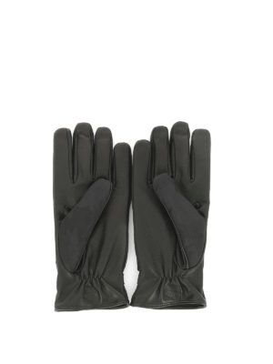 Valentino Garavani: gloves online - Camouflage fabric gloves