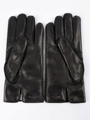 Valentino Garavani: gloves online - Rockstud leather gloves