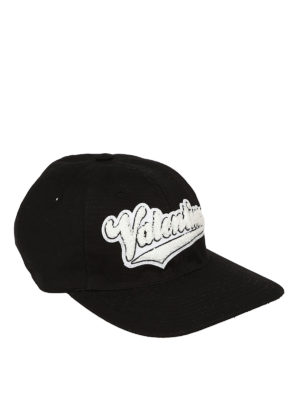 VALENTINO GARAVANI: cappelli - Cappellino con logo a contrasto