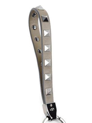Valentino Garavani: key holders online - Rockstud leather key holder