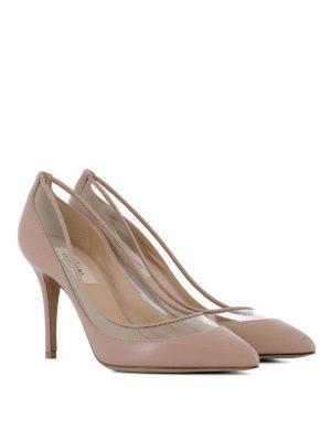 VALENTINO GARAVANI: scarpe décolleté online - Décolleté con dettaglio trasparente