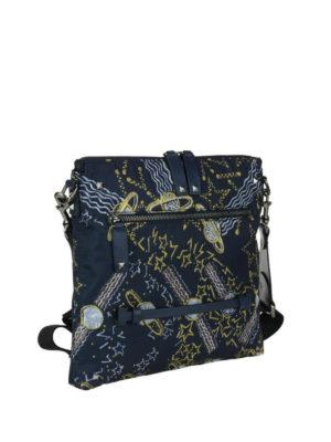 VALENTINO GARAVANI: borse a tracolla online - Tracollina in tessuto stampa Galaxy