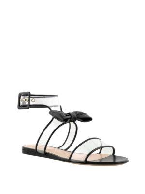 VALENTINO GARAVANI: sandali online - Sandali Dollybow neri vedo non vedo