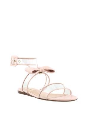 VALENTINO GARAVANI: sandali online - Sandali Dollybow rosa vedo non vedo