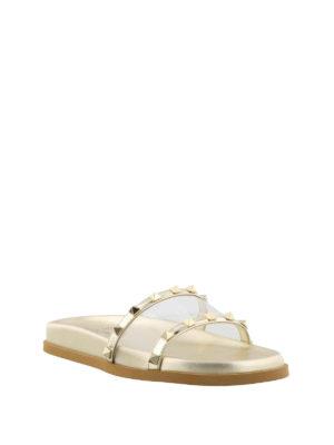 VALENTINO GARAVANI: sandali online - Sandali vedo non vedo con borchie