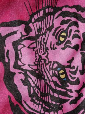 VALENTINO GARAVANI: sciarpe e foulard online - Foulard con stampa Tiger Re-Edition