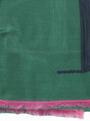 VALENTINO GARAVANI: sciarpe e foulard online - Sciarpa VLTN in misto cashmere