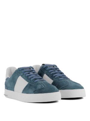 VALENTINO GARAVANI: sneakers online - Sneaker Flycrew in camoscio