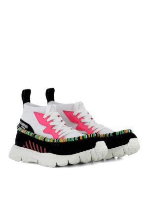 VALENTINO GARAVANI: sneakers online - Sneaker Heroes Tribe in tessuto