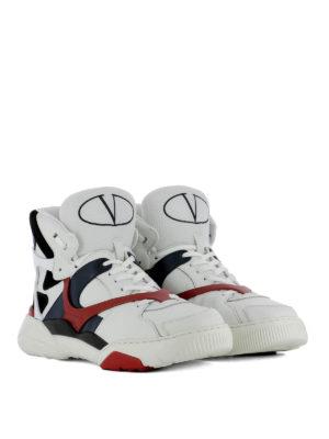 VALENTINO GARAVANI: sneakers online - Sneaker Made One nappa e camoscio