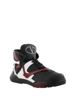 VALENTINO GARAVANI: sneakers online - Sneaker Made One in nabuk e pelle