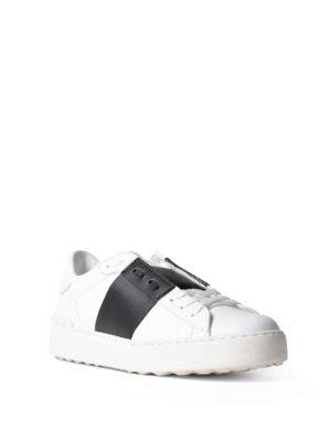 VALENTINO GARAVANI: sneakers online - Sneaker Open con banda nera