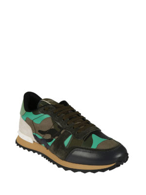 VALENTINO GARAVANI: sneakers online - Sneaker Rockrunner camouflage