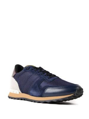 VALENTINO GARAVANI: sneakers online - Sneaker blu scuro Rockrunner