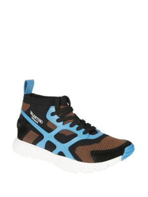 VALENTINO GARAVANI: sneakers online - Sneaker Sound High dettagli azzurri
