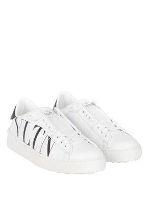 VALENTINO GARAVANI: sneakers online - Sneaker stringate con stampa VLTN