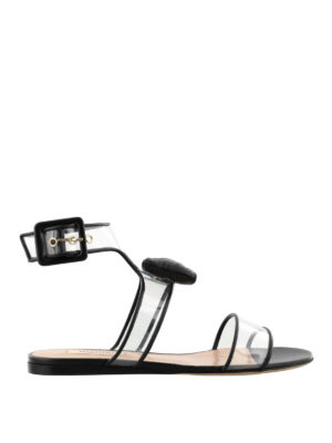 VALENTINO GARAVANI: sandali - Sandali Dollybow neri vedo non vedo