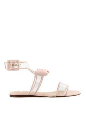VALENTINO GARAVANI: sandali - Sandali Dollybow rosa vedo non vedo