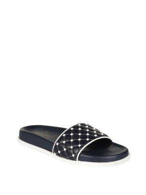 Valentino Garavani: sandals online - Free Rockstud Spike slide sandals