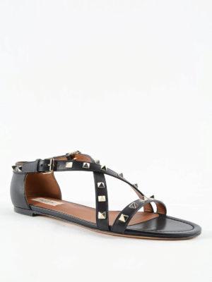 Valentino Garavani: sandals online - Rockstud sandals