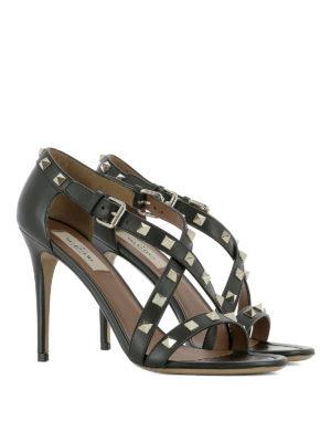 Valentino Garavani: sandals online - Rockstud sandals with stiletto heel