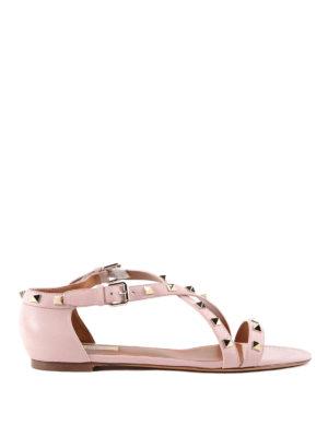 Valentino Garavani: sandals - Rockstud sandals