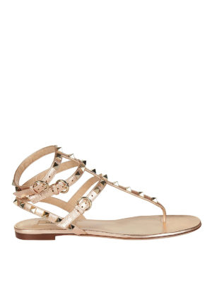 Valentino Garavani: sandals - Rockstud thong sandals