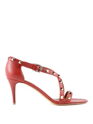 Valentino Garavani: sandals - Studded leather sandals