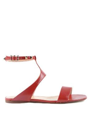 Valentino Garavani: sandals - Studded slingback sandals