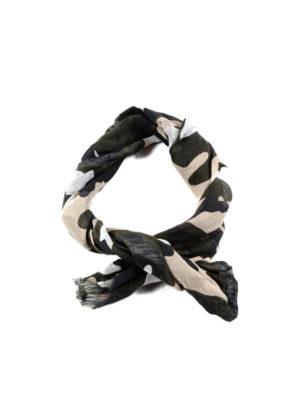 Valentino Garavani: scarves - Camu print unfinished scarf