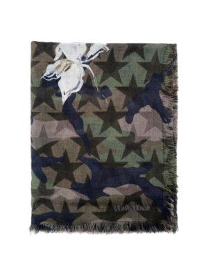 Valentino Garavani: scarves - Camustars silk blend scarf
