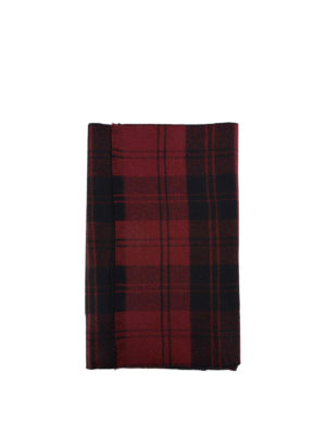 Valentino Garavani: scarves - Checked pure wool scarf