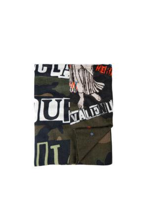 Valentino Garavani: scarves - Jamie Reid camouflage scarf