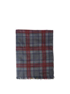 Valentino Garavani: scarves - Jamie Reid chequered scarf