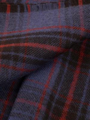 Valentino Garavani: scarves online - Checked pure wool scarf