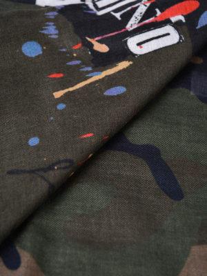 Valentino Garavani: scarves online - Jamie Reid camouflage scarf