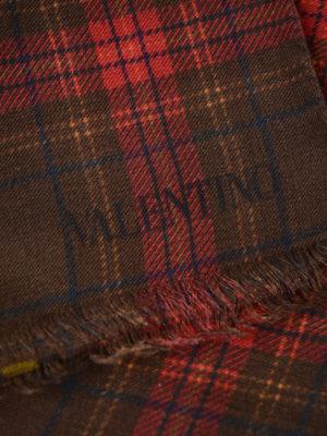 Valentino Garavani: scarves online - Jamie Reid chequered scarf